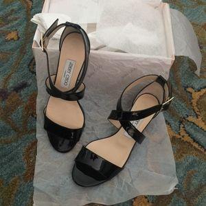 Jimmy Choo 'Chiara' Strap Wedge Sandal